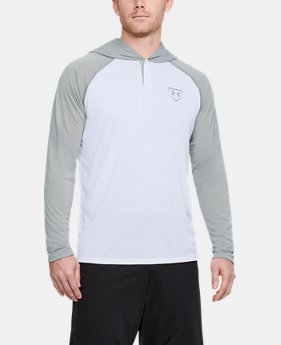 Men's UA Baseball Hoodie  1  Color Available $44.99