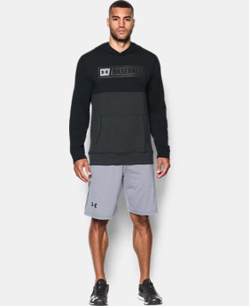 Men's UA Baseball Training Hoodie  1  Color Available $64.99
