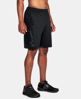 Men's UA Baseball Training Shorts  1  Color Available $20.99