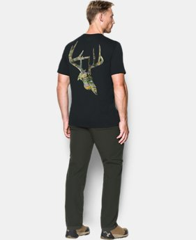 Men's UA Whitetail Skull T-Shirt  1 Color $22.49