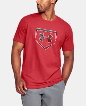 Men's UA Plate Logo T-Shirt  1 Color $29.99