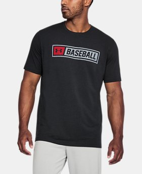 New Arrival Men's UA Wordmark T-Shirt  1 Color $24.99