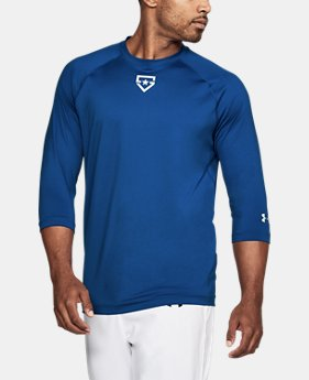 Men's UA Heater ¾ Sleeve T-Shirt  1  Color Available $39.99
