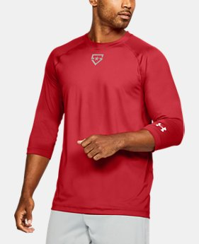 Men's UA Heater ¾ Sleeve T-Shirt  2 Colors $39.99