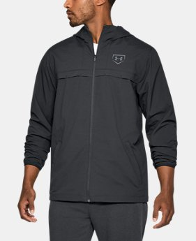 Men's UA Baseball Warm-Up Jacket  1  Color Available $89.99