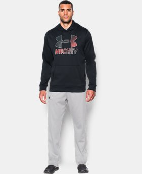 New Arrival  Men's UA Storm Hockey Logo Hoodie  1 Color $69.99