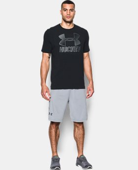 Men's UA Hockey Logo T  1 Color $29.99