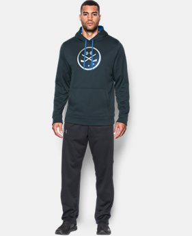 Men's UA Storm Hockey Hoodie LIMITED TIME OFFER 1 Color $46.66