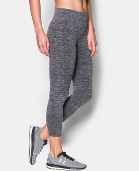 New Arrival Women's UA Threadborne™ Seamless Heathered Crop   $69.99