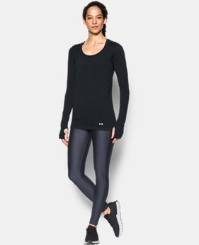 Women's UA Threadborne™ Seamless Space Dye Long Sleeve  1 Color $41.24