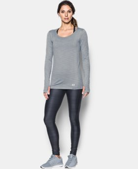 Women's UA Threadborne™ Seamless Space Dye Long Sleeve  3  Colors Available $54.99
