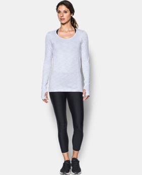 Women's UA Threadborne™ Seamless Space Dye Long Sleeve  2  Colors Available $54.99