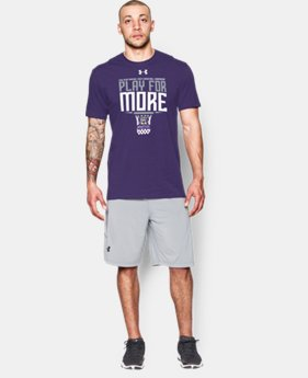 Men's  Weber State UA Play For More T-Shirt