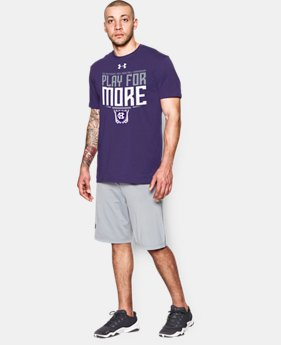 Men's Holy Cross UA Play For More T-Shirt