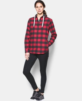 New Arrival Women's UA Borderland Flannel Swacket  1 Color $84.99
