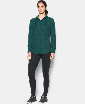 Women's UA Borderland Flannel Swacket LIMITED TIME: 25% OFF 4 Colors $63.74