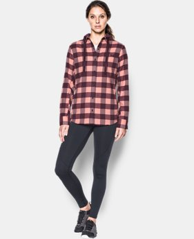 Women's UA Borderland Flannel Swacket  1 Color $94.99