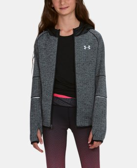 Girls' UA Swacket  3  Colors Available $59.99
