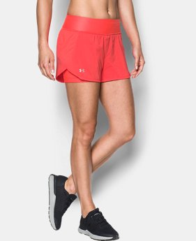 Women's UA Launch Tulip 2-in-1 Shorts   $44.99