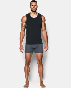 Men's Charged Cotton® Tank Undershirt – 2-Pack  3  Colors Available $39.99