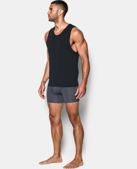 Men's Charged Cotton® Tank Undershirt – 2-Pack  2 Colors $39.99