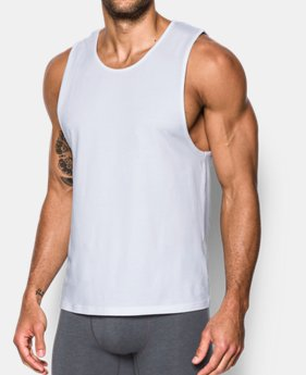 02b8fa19802cb Men s Charged Cotton® Tank Undershirt – 2-Pack 3 Colors Available  35