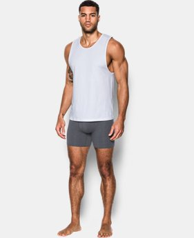 Men's Charged Cotton® Tank Undershirt – 2-Pack  2 Colors $35