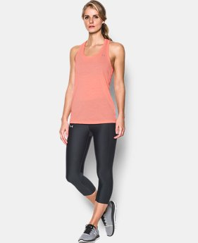 New to Outlet Women's UA Threadborne Train Grid Tank  1 Color $20.99