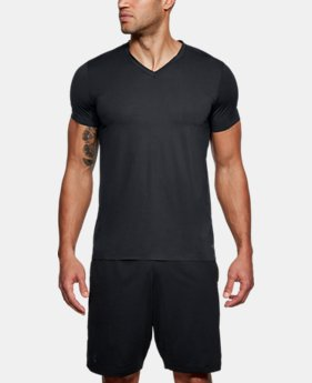 Best Seller Men's ArmourVent® Mesh Series V-Neck Undershirt   $40