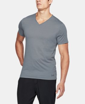 Best Seller Men's ArmourVent® Mesh Series V-Neck Undershirt  2 Colors $40