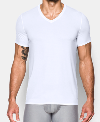 Men's ArmourVent Mesh Series V-Neck Undershirt