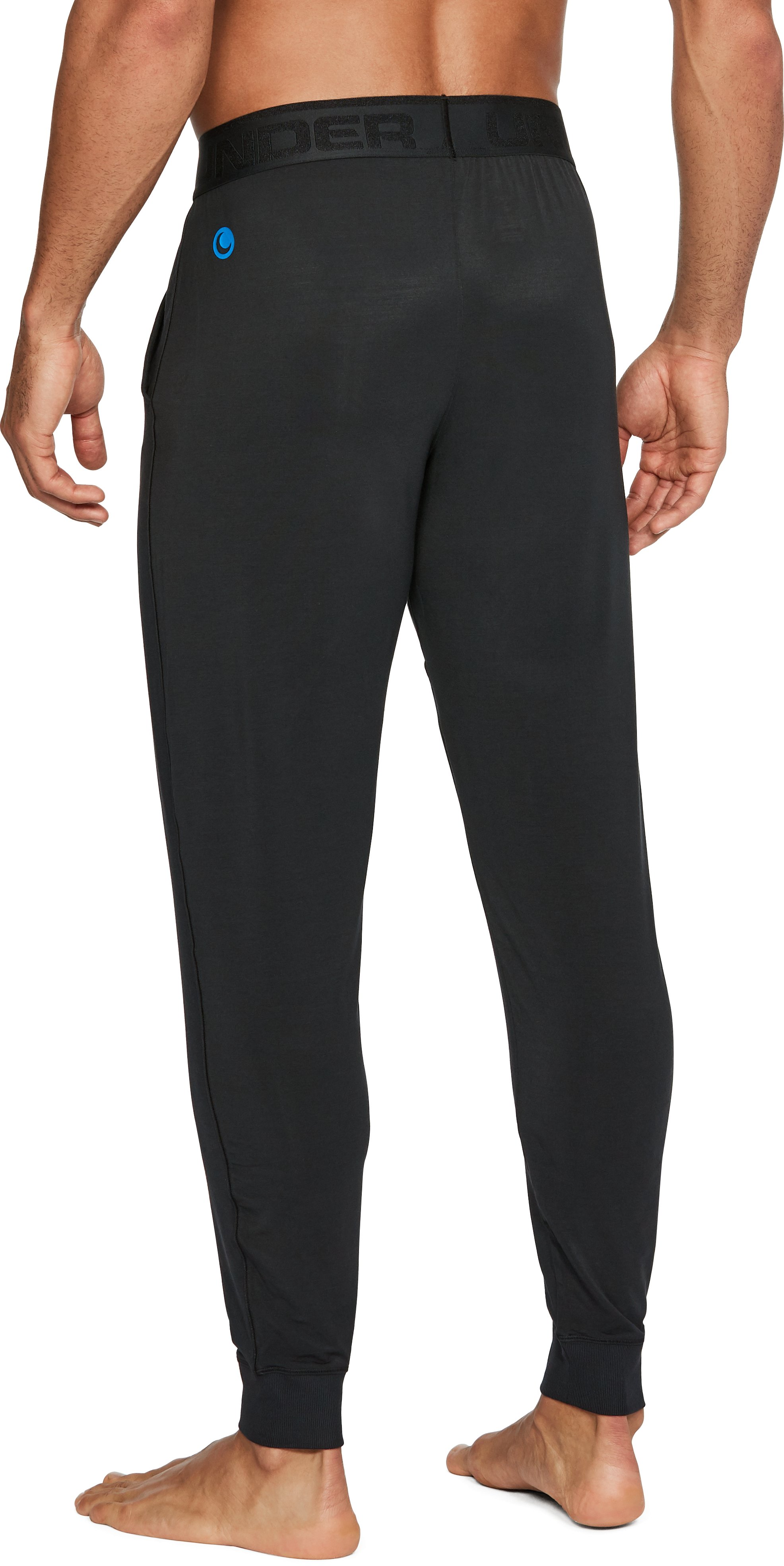 Men's Athlete Recovery Ultra Comfort Sleepwear Pants, Black ,