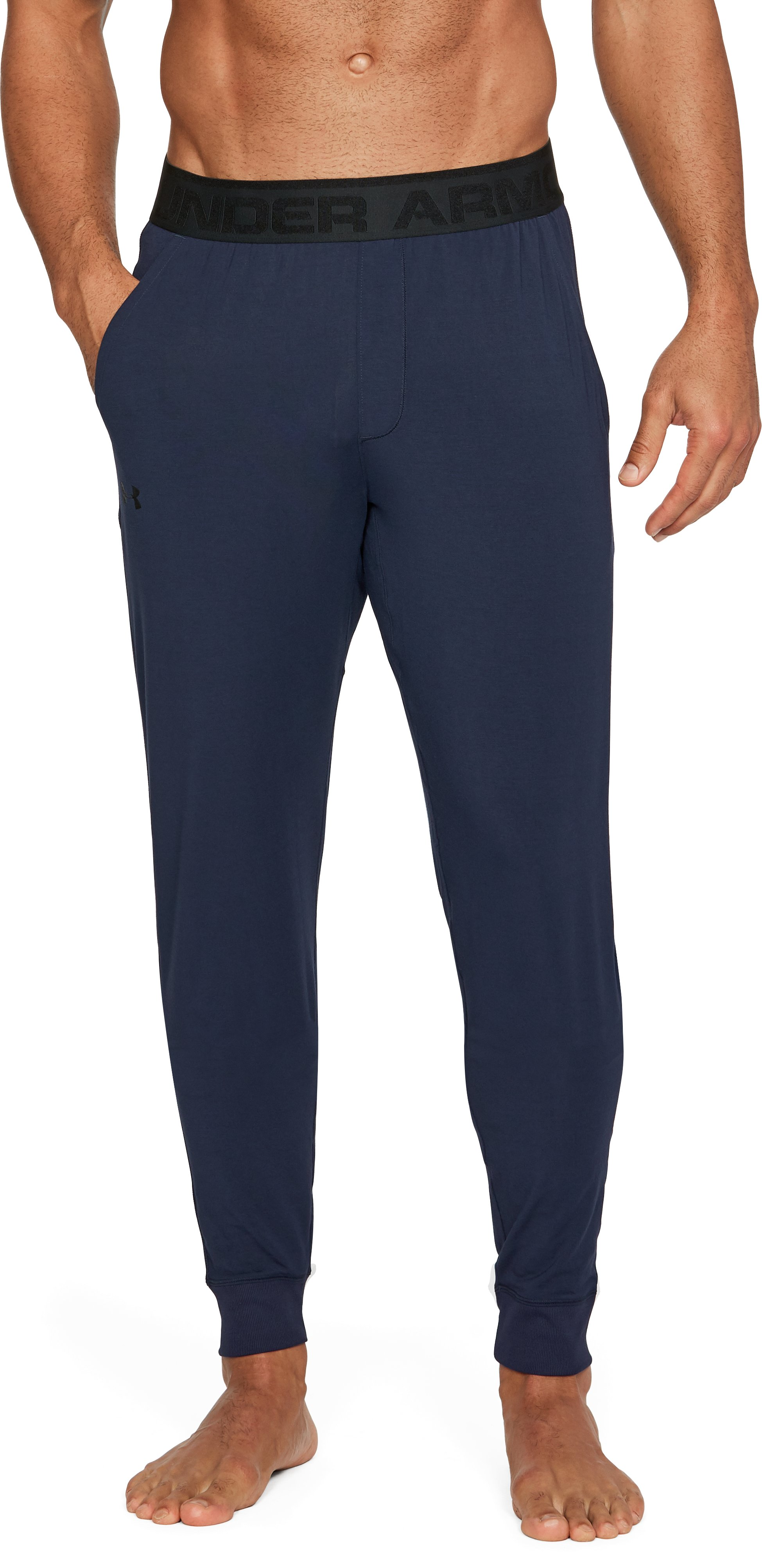 Men's Athlete Recovery Ultra Comfort Sleepwear Pants, Midnight Navy