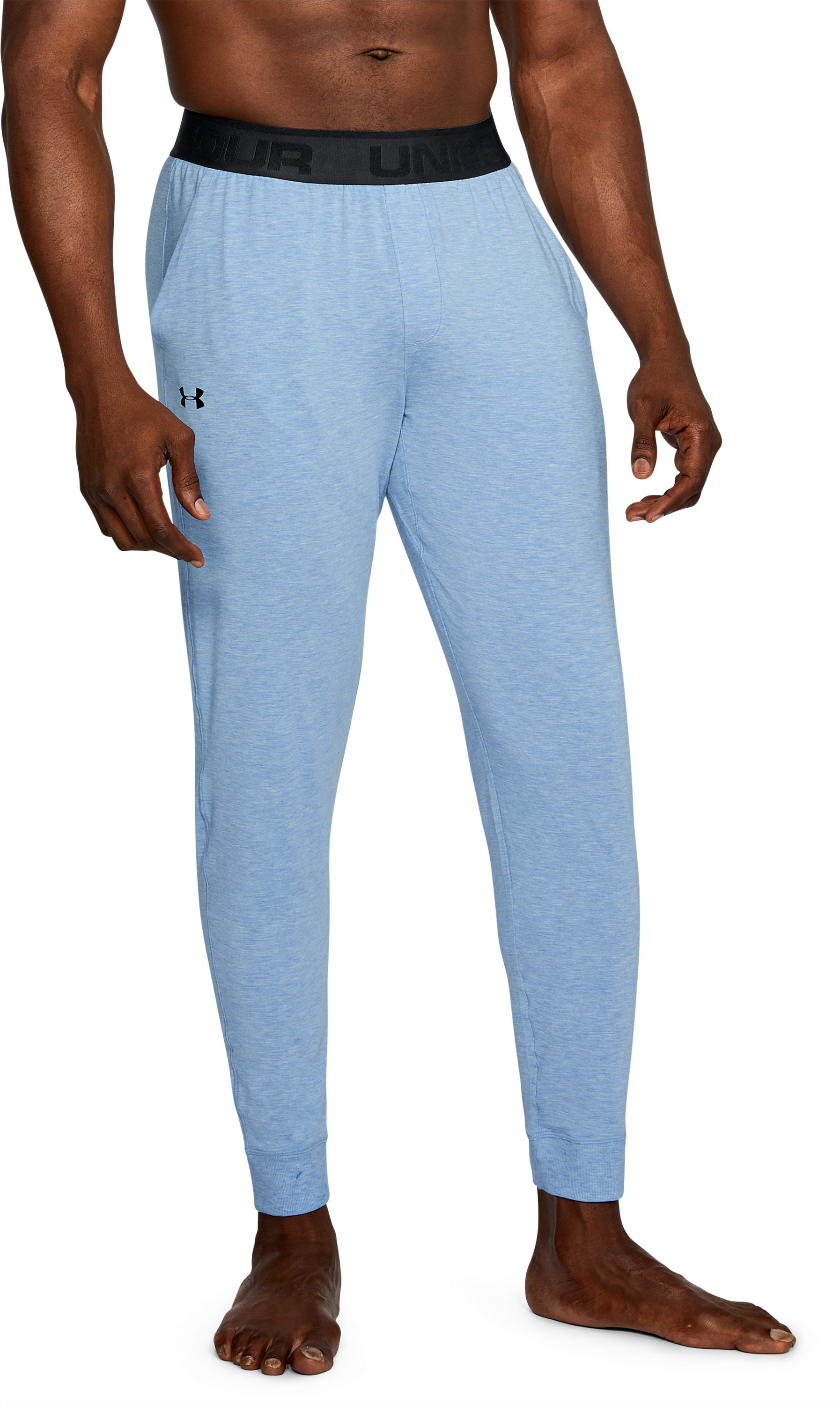 Men's Athlete Recovery Ultra Comfort Sleepwear Pants, WATER MEDIUM HEATHER
