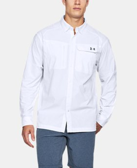 Men's UA Fish Hunter Solid Long Sleeve  1 Color $70