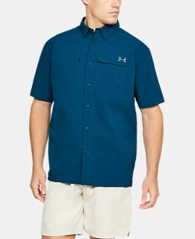Men's UA Fish Hunter Solid Short Sleeve   $59.99