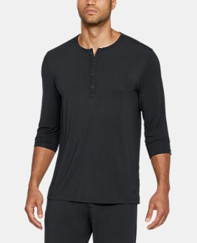 ELLEN DEGENERES SHOW PICK  Men's Athlete Recovery Sleepwear Henley  1 Color $99.99