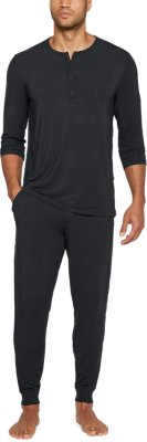 Mens Athlete Recovery Ultra Comfort Henley Pijama
