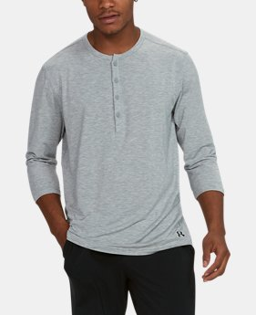 Men's Athlete Recovery Ultra Comfort Sleepwear Henley  4  Colors Available $74.99