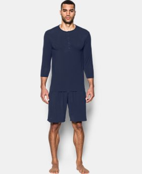 Best Seller Men's Athlete Recovery Sleepwear Henley   $99.99