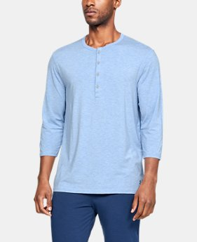 Men's Athlete Recovery Ultra Comfort Sleepwear Henley  2  Colors Available $74.99