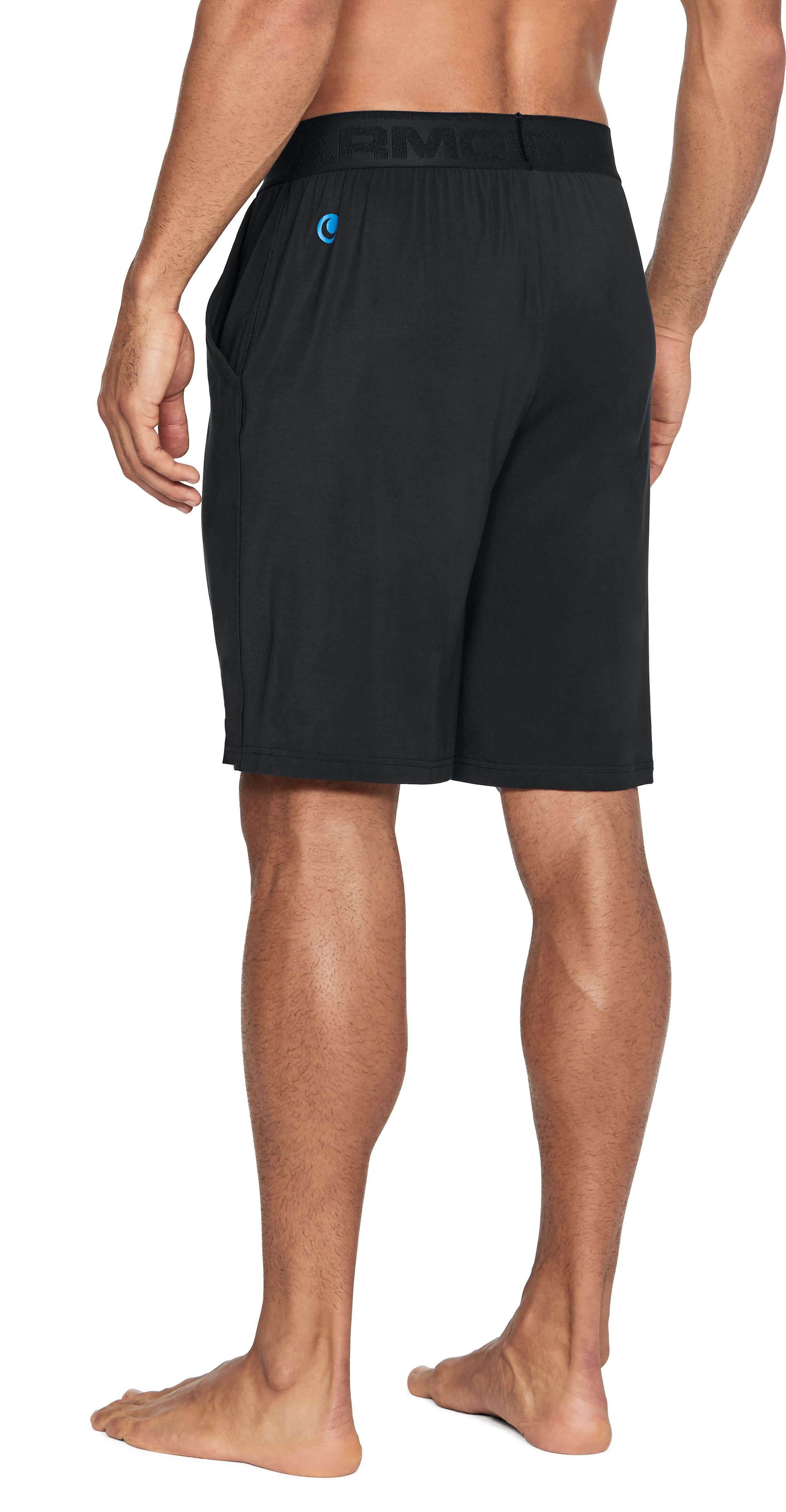 Men's Athlete Recovery Ultra Comfort Sleepwear Shorts, Black ,
