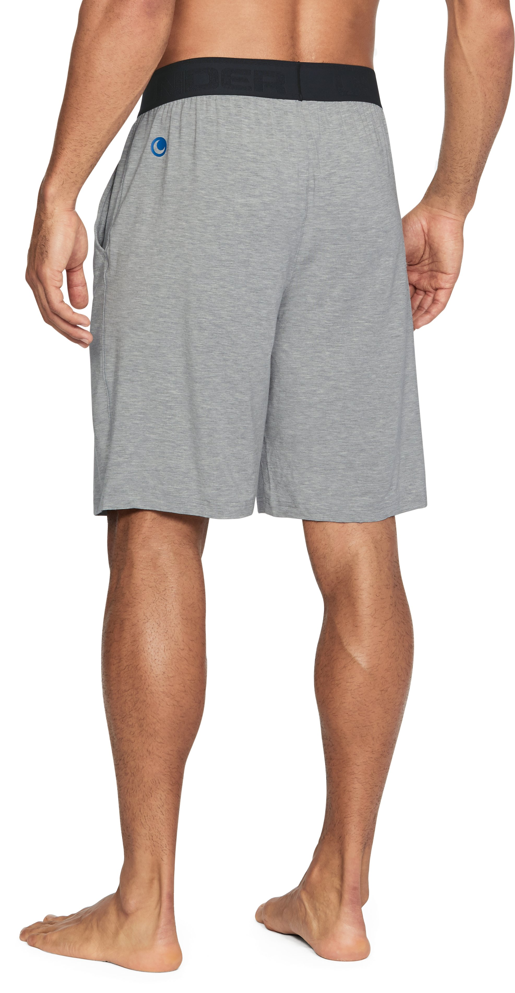 Men's Athlete Recovery Ultra Comfort Sleepwear Shorts, True Gray Heather, undefined