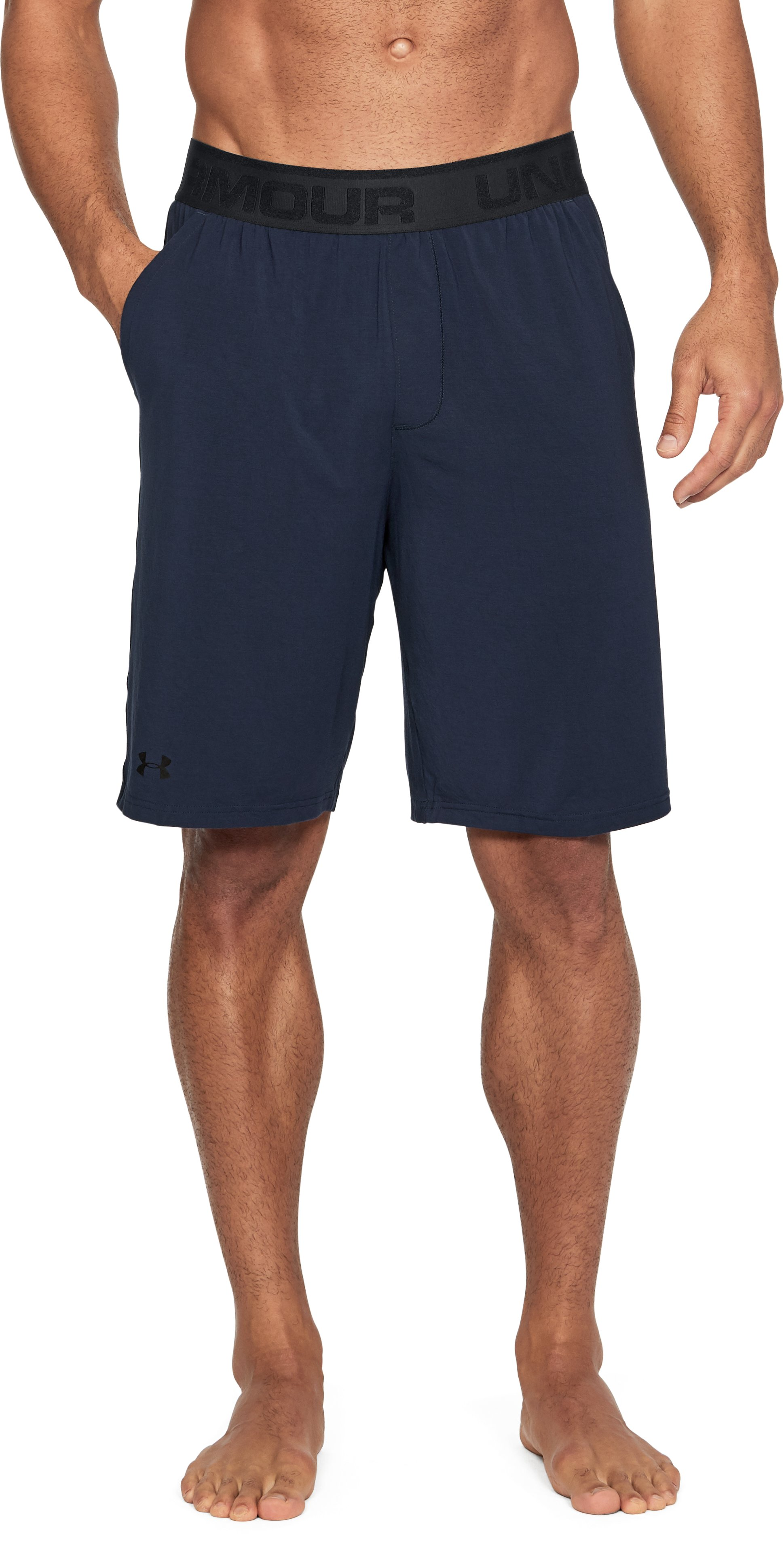 Men's Athlete Recovery Ultra Comfort Sleepwear Shorts, Midnight Navy, undefined