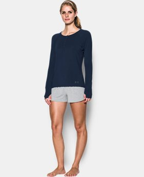 Women's Athlete Recovery Sleepwear Henley   $99.99