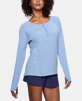 Women's Athlete Recovery Sleepwear Henley   $114.99