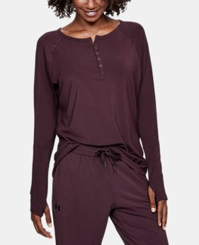 ELLEN DEGENERES SHOW PICK  Women's Athlete Recovery Sleepwear Henley  2 Colors $99.99