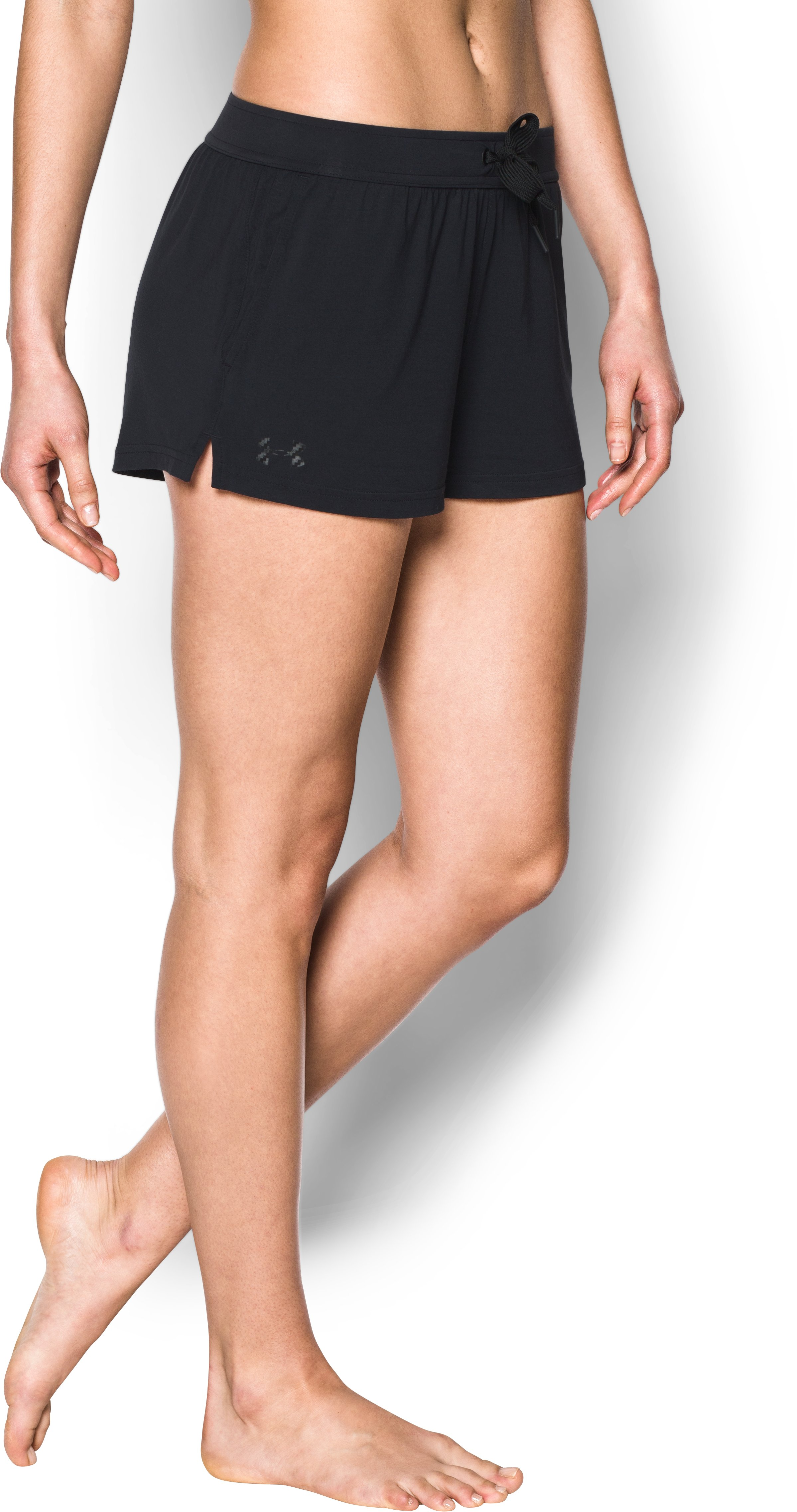 Women's Athlete Recovery Ultra Comfort Sleepwear Shorts, Black