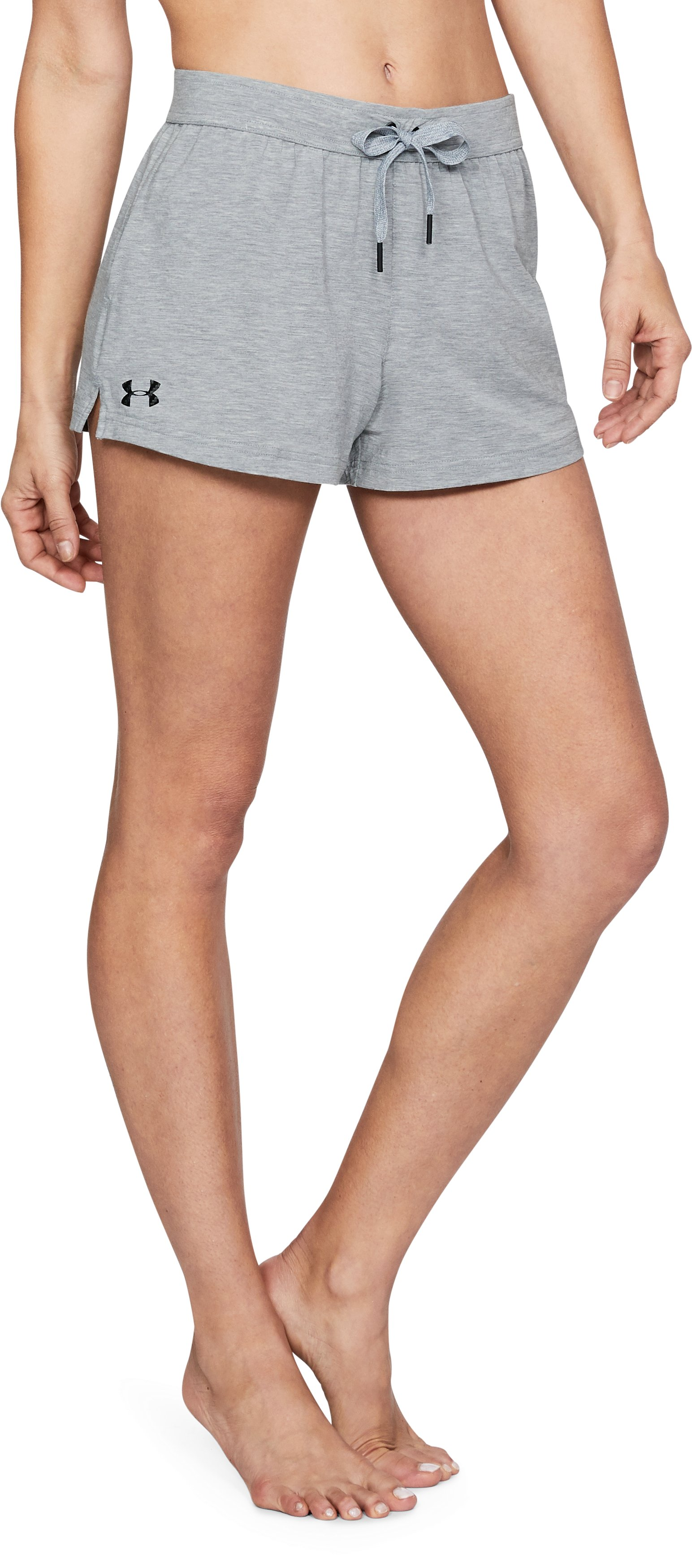 Women's Athlete Recovery Ultra Comfort Sleepwear Shorts, True Gray Heather