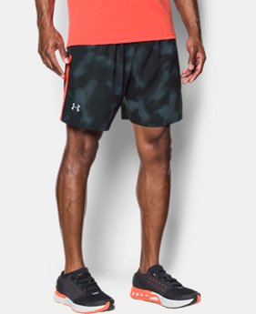 Men's UA Launch SW Printed 7'' Shorts  4 Colors $39.99